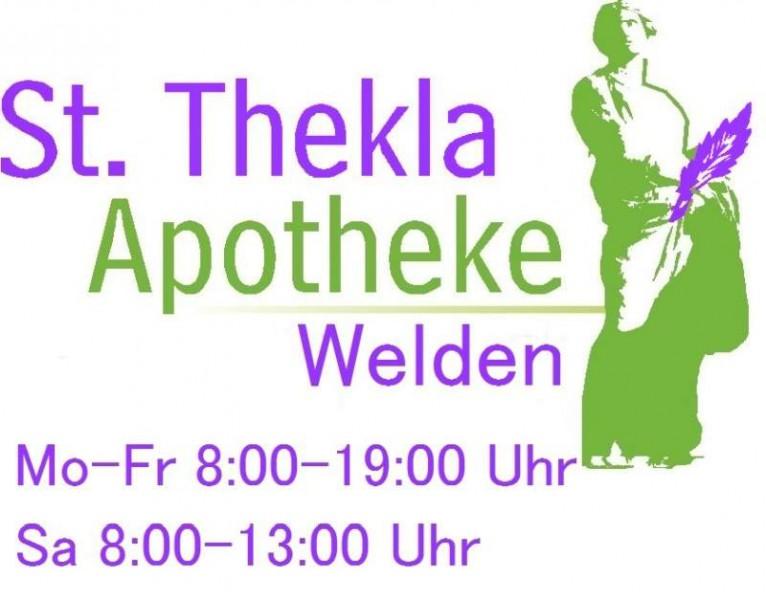 _24 K Apotheke St. Thekla_Logo Thekla Welden Öffnungszeiten.