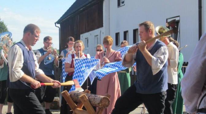 beim Pius in Bonstetten zur 950 Jahrfeier