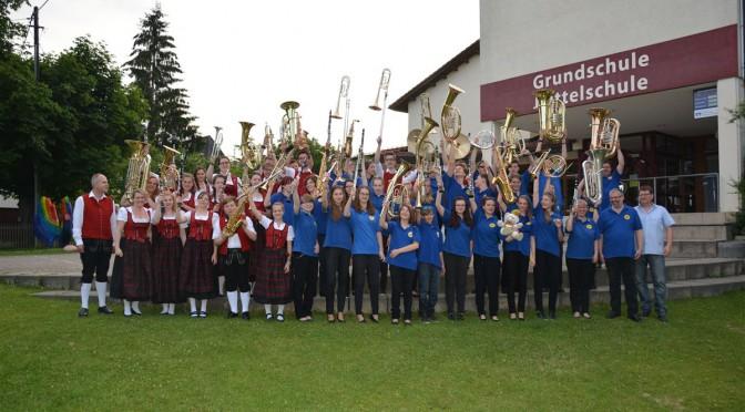 Jugendblasorchester Bautzen besucht die Jugendkapelle