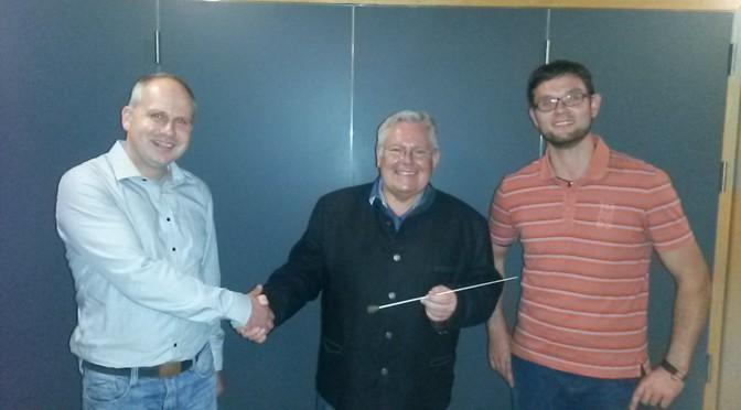 Neuer Dirigent für die Jugend- und Marktkapelle