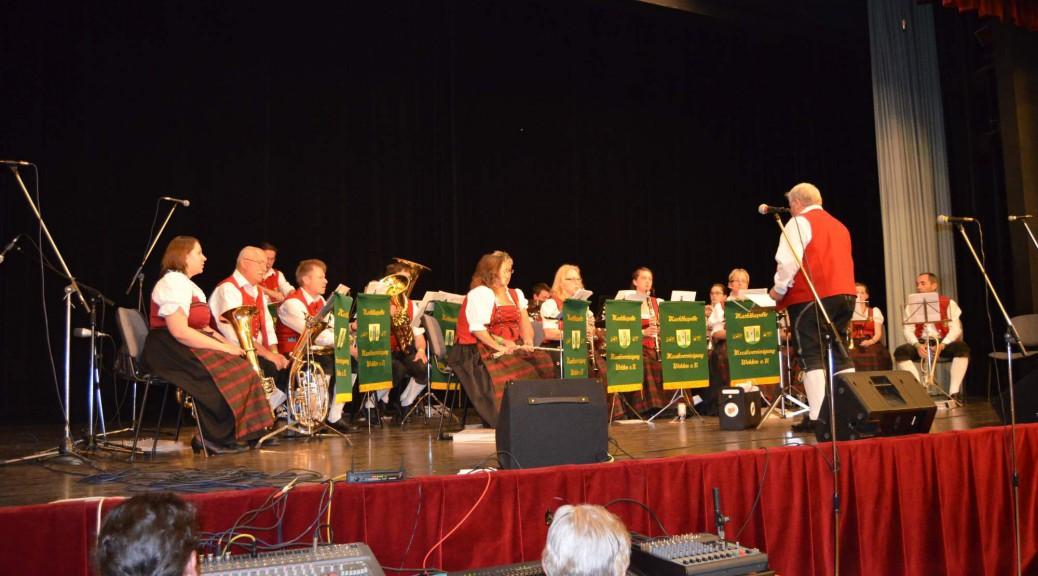 Musiker der MV Welden in Nové Strašecí