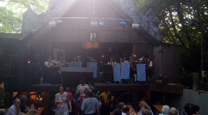 Die Musikvereinigung spielt im Volkstheater auf