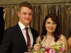 Prinzessin Tanja II. und Prinz Dominik I.