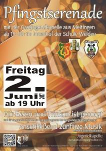 Pfingstserenade Poster 2017.