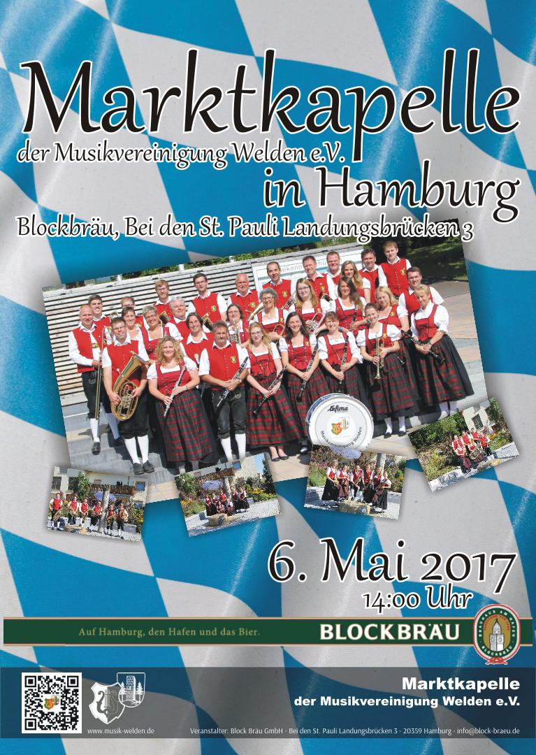 Hamburger Hafengeburtstag umrahmt von Blasmusik | Musikvereinigung ...
