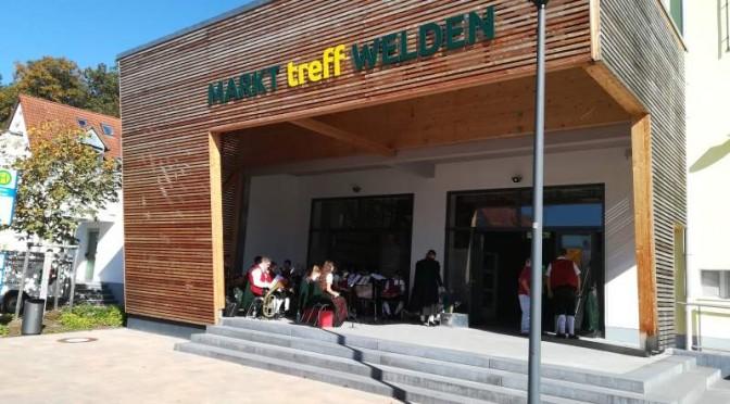 Schülerwerbung 2017 im Markttreff Welden