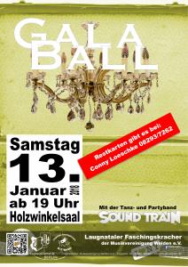 Galaball Plakat 2018