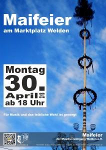 Maifeier Poster 2018
