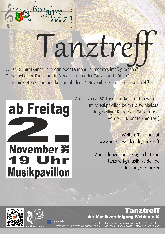 Tanztreff-Flyer