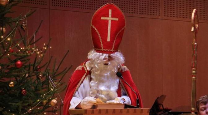 Nikolaus zu Gast bei der Musikvereinigung Welden e.V.