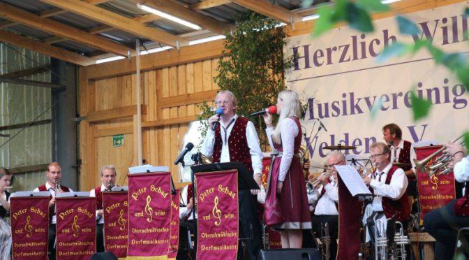 Blasmusik satt beim 60-jährigem Jubiläum