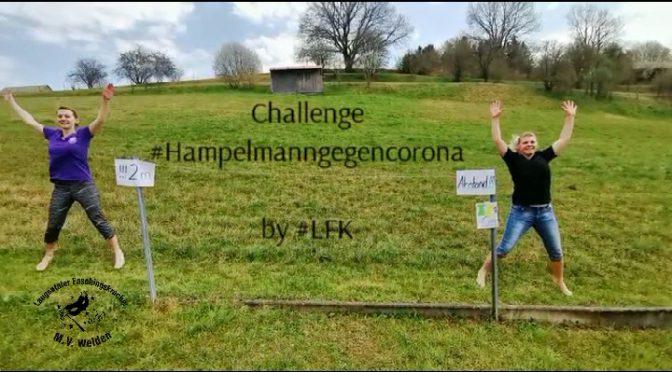 Challenge Hampelmann gegen Corona
